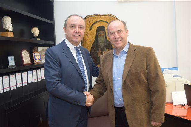 Επίσκεψη του Υφυπουργού Εσωτερικών (τομέας Μακεδονίας Θράκης) κ. Θεόδωρο Καράογλου στον Δήμο Δίου – Ολύμπου