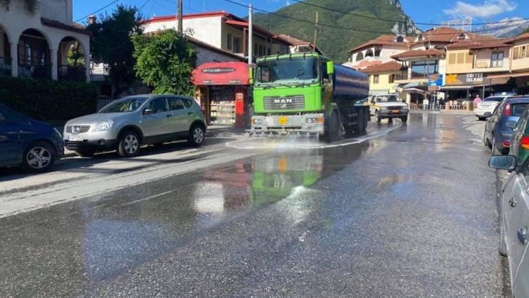 Πρόγραμμα λειτουργίας του σάρωθρου και του οχήματος πλύσης και απολύμανσης,
