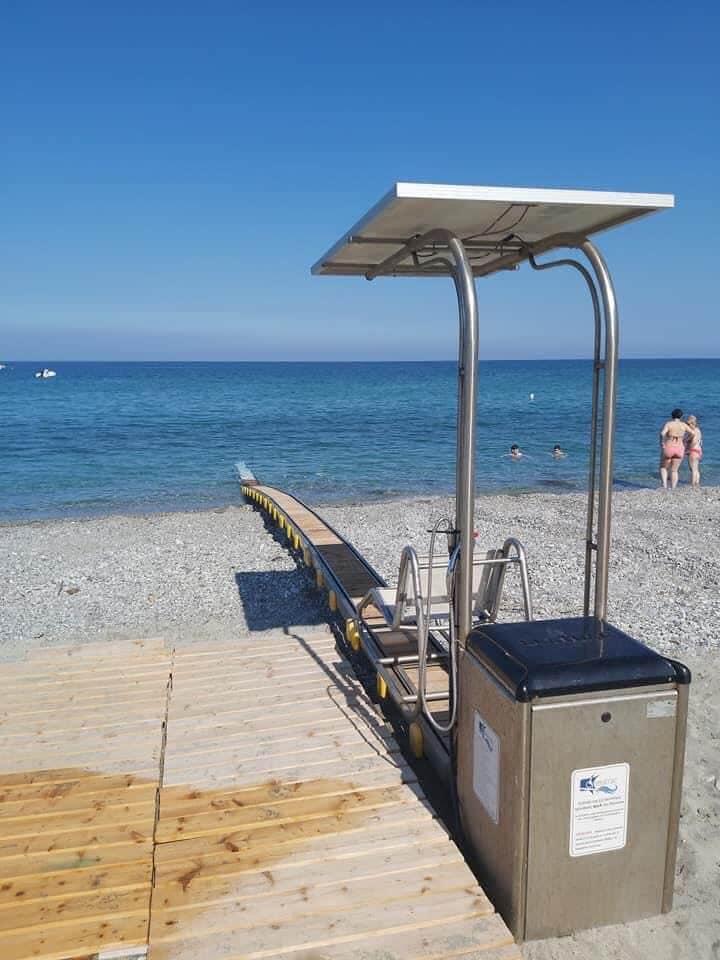 Επισκευάστηκε και τοποθετήθηκε το Seatrac στην Παραλία Λεπτοκαρυάς
