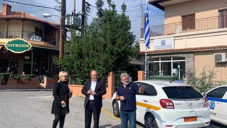 Προγραμματική σύμβαση Π.Ε. Πιερίας – Δήμου Δίου-Ολύμπου ύψους 300.000€ για ασφαλτόστρωση