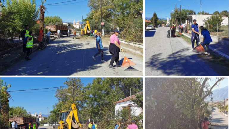 Εντατικές εργασίες επισκευών και συντηρήσεων σε κοινόχρηστους χώρους σε όλο τον Δήμο