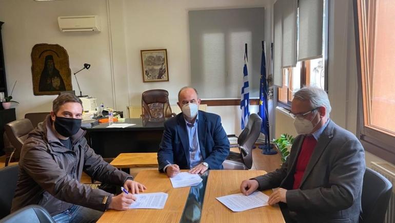 Υπογράφηκε η σύμβαση για την αναβάθμιση του Διυλιστηρίου Λιτοχώρου