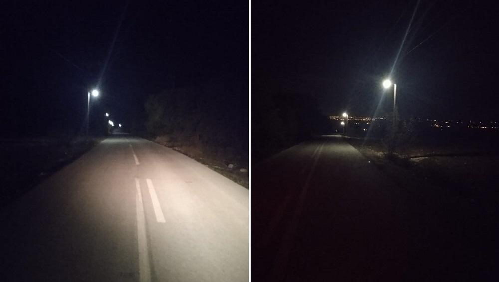 Δ.Ε. Δίου: Ολοκληρώθηκε η πρώτη φάση της επέκτασης του δικτύου ηλεκτροφωτισμού στο δρόμο από τη Βροντού προς το ρέμα της Αγίας Τριάδας