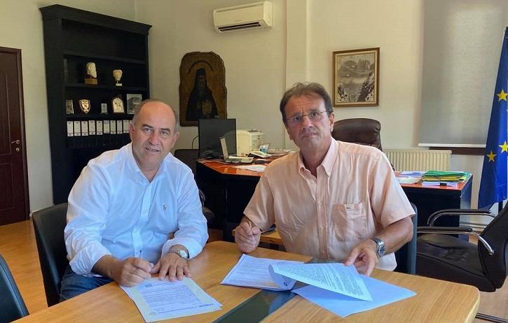 Υπογράφηκε η σύμβαση για την αστική οδοποιία των κοινοτήτων της Δ.Ε. Δίου, προϋπολογισμού 208.000€