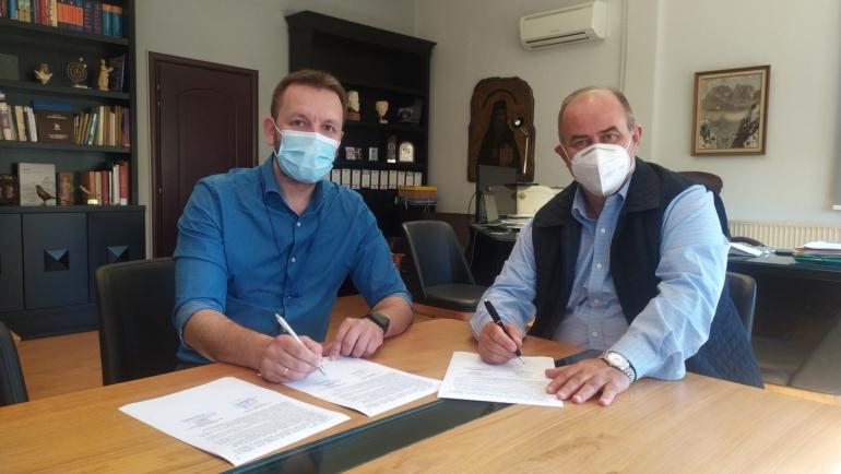 Υπογράφηκε η σύμβαση εκπόνησης του Στρατηγικού Σχεδίου Βιώσιμης Αστικής Κινητικότητας (ΣΒΑΚ), προϋπολογισμού 34.720€