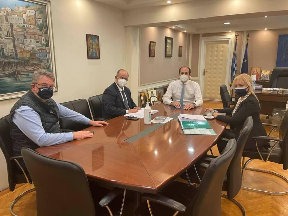 Δεκτή από τον υφυπουργό Οικονομικών Απόστολο Βεσυρόπουλο η από κοινού αίτηση Π.Ε. Πιερίας και Δήμου Δίου-Ολύμπου για την επαναχάραξη της παραλιακής ζώνης Λεπτοκαρυάς