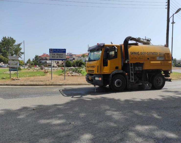Εντατικές οι εργασίες καθαριότητας και ευπρεπισμού των 12 Κοινοτήτων από την Αντιδημαρχία Καθημερινότητας