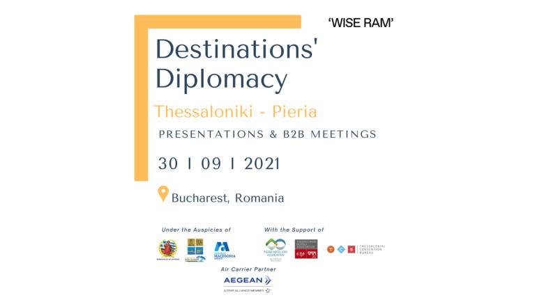 Παρουσίαση του Δήμου Δίου-Ολύμπου ως τουριστικό προορισμό σε επαγγελματίες τουρισμού στο Βουκουρέστι της Ρουμανίας