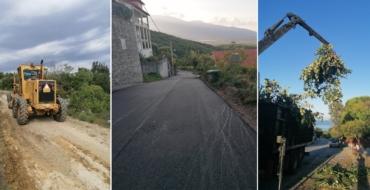 Συνεχίζονται οι εργασίες καθαριότητας στους αγροτικούς δρόμους του Παλαιού Παντελεήμονα και οι ασφαλτοστρώσεις στον οικισμό του Νέου Παντελεήμονα